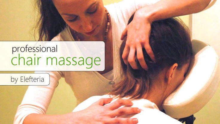 Σεμινάριο On Site Massage στην ειδική καρέκλα, με την Ελευθερία Μαντζώρου.