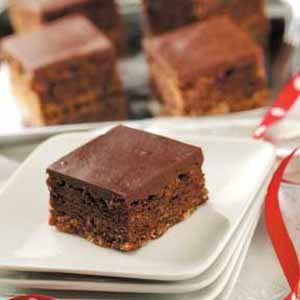 Three-Layer Chocolate Brownies: Cooking Recipe, Three Laying Chocolates, Oatmeal Crusts, The Oatmeal, Brownies Recipe, Brownies Bar, Chocolates Brownies, Chocolates Frostings, Chocolate Brownies