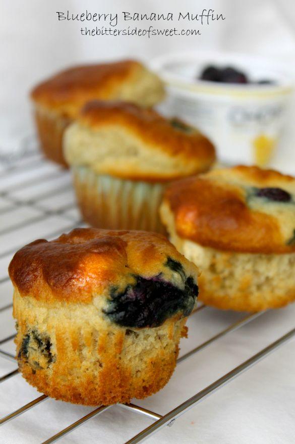 Blueberry Banana Muffins | Recipe