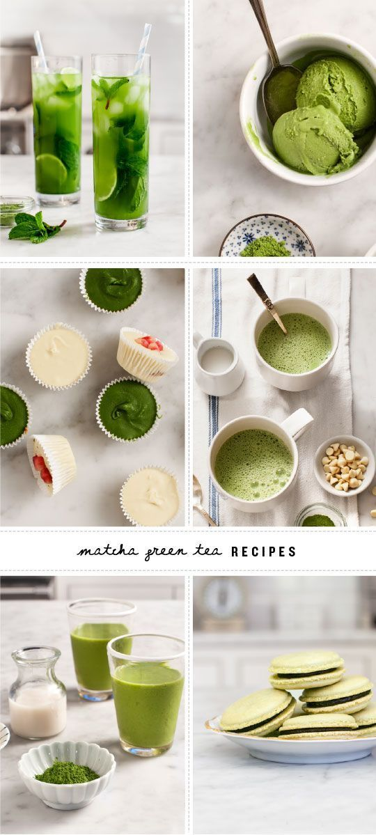 Matcha Recipes::
