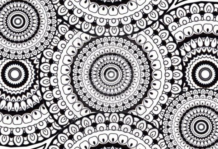 Zentangle Circles Doodle Drawing by *KathyAhrens on deviantART