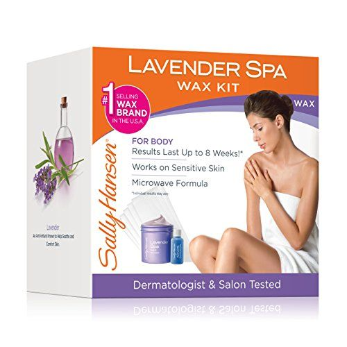 Sally Hansen Lavender Spa Wax Hair Removal Kit for Body Legs Arms and Bikini. For product & price info go to:  https://beautyworld.today/products/sally-hansen-lavender-spa-wax-hair-removal-kit-for-body-legs-arms-and-bikini/