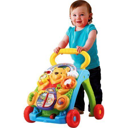VTech - Winnie the Pooh 2-in-1 Baby Activity Walker, Multicolor