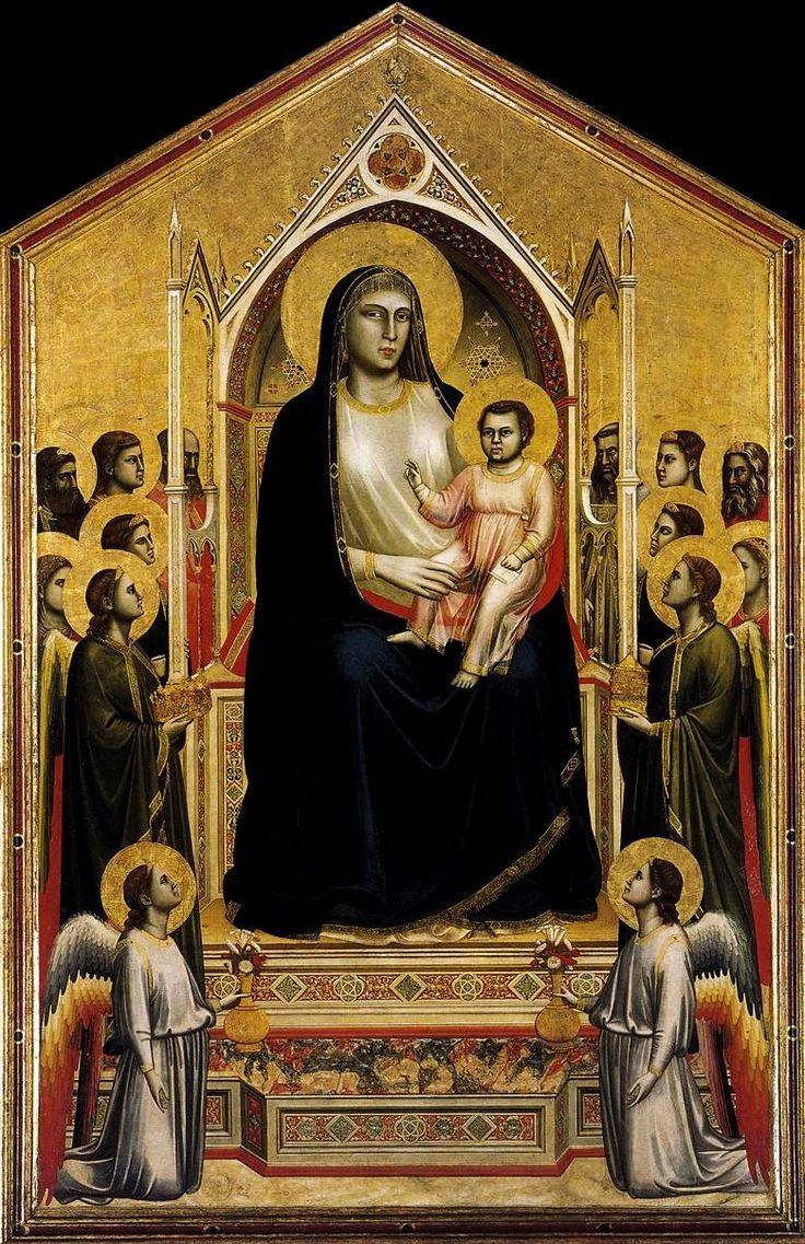 Giotto di bondone 1266 1267 1337 the ognissanti madonna madonna renaissance artmedieval