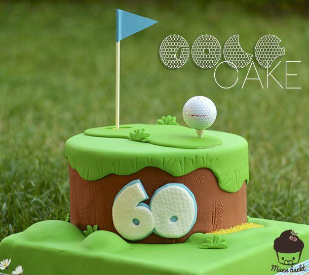 Motivtorte Golf