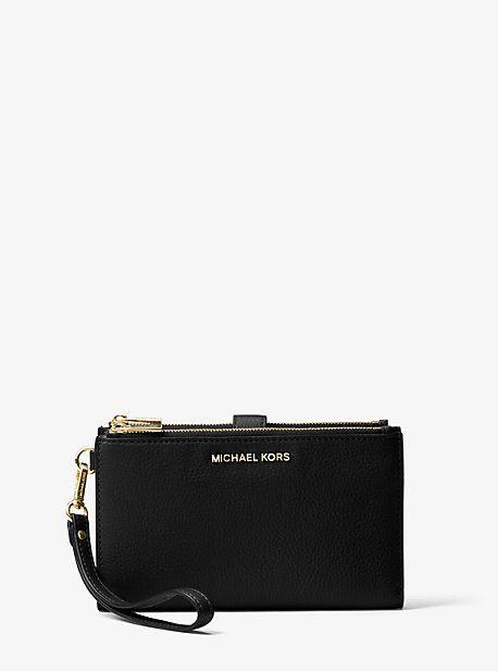 Adele Leather Smartphone Wristlet