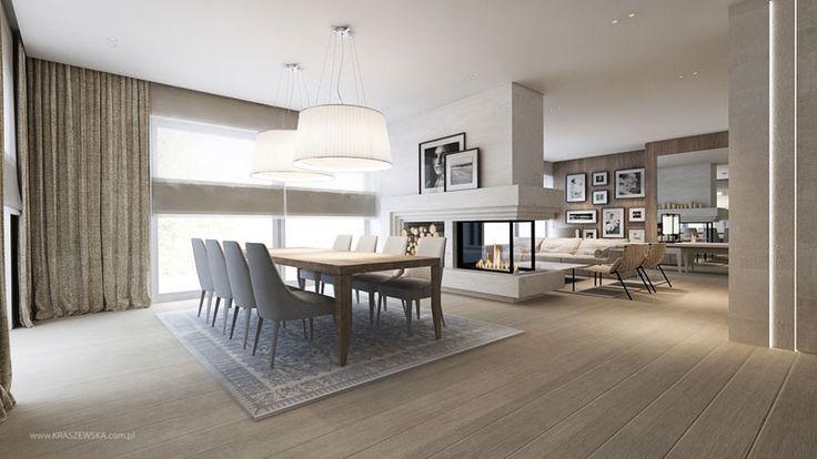 Przytulny pokój dzienny w nowoczesnym stylu