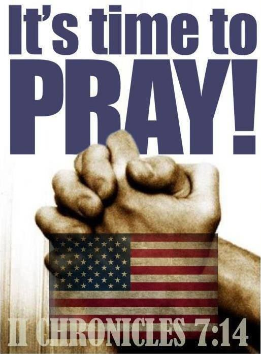 It always is, but now more than ever - Pray for our country!