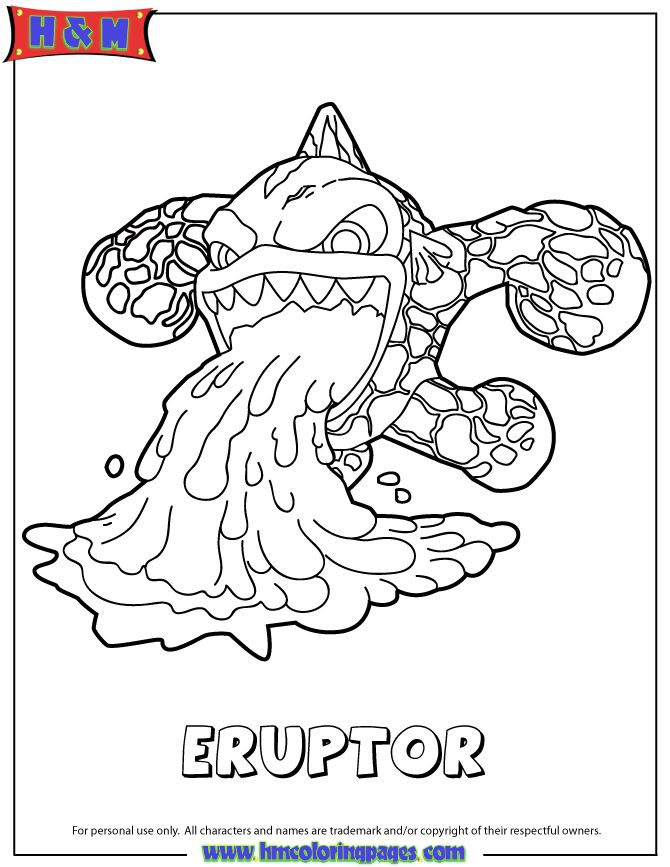 17 Best Images About Skylanders On Pinterest Coloring Skylander Boy And Coloring Pages