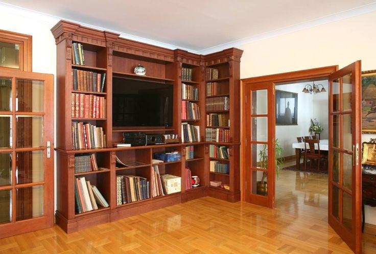 biblioteka dębowa
