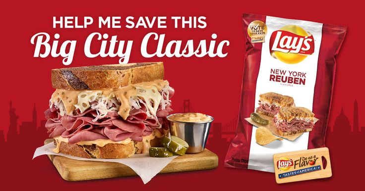 Help me save this Big City classic – Corned beef. Marbled rye. Swiss cheese and sauerkraut. Can it get any better than that? Join the #FlavorAmbassadors to help me save this Big City classic.