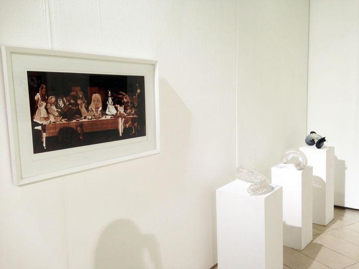 Unisa Art Gallery - CANSA Art Exhibition - Artworks by Gordon Froud - Photograph by Megan Erasmus