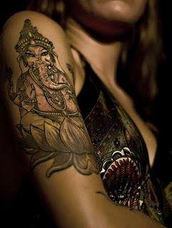 Ganesh with lotus