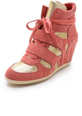 Ash Bea Wedge Sneakers - Lyst