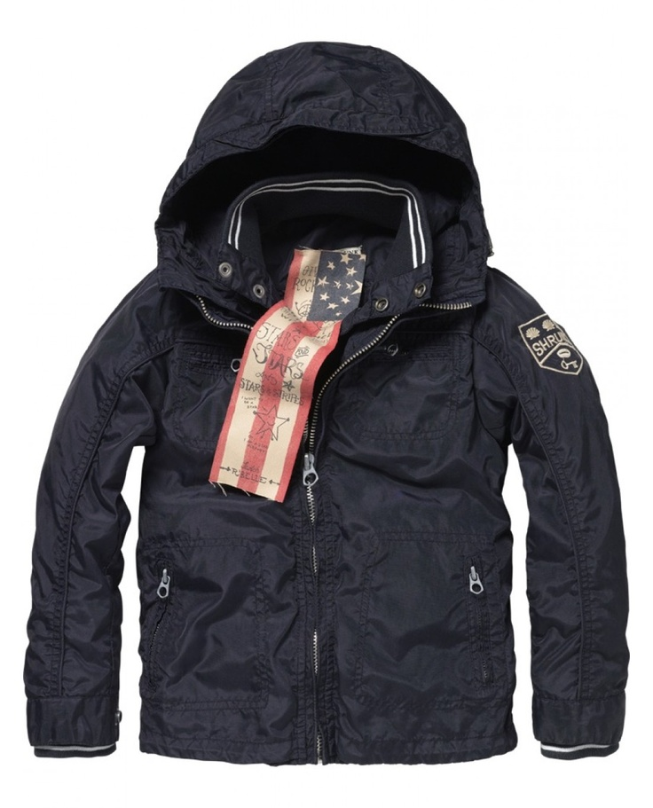 Hooded jacket - Jackets - Scotch & Soda