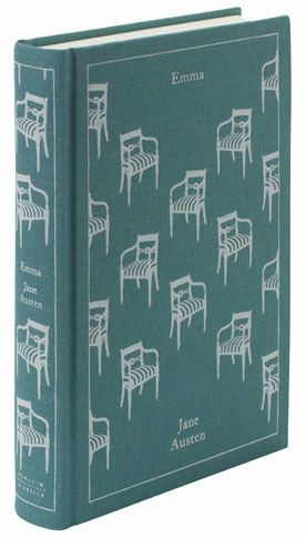 Emma by Jane Austen: (Penguin clothbound classic designed by Coralie Bickford-Smith), but any Austen book will do!
