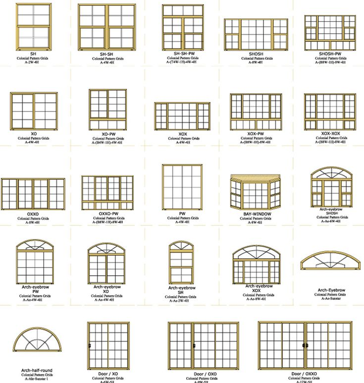 1000 Images About Windows Colonial Grid On Pinterest