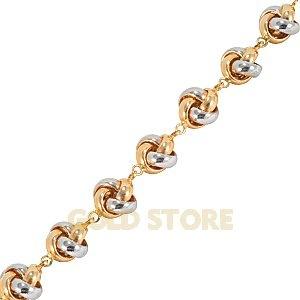 14 Ayar Altın Taşsız Bileklik GB21029