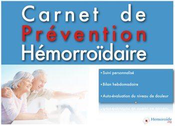 """Recevez gratuitement """"Hémorroïdes et Homéopathie"""" et votre Carnet de Prévention Hémorroïdaire -"""