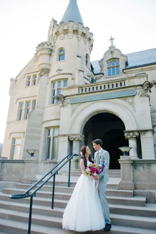 Getting married in Minnesota? These unique Minneapolis wedding venues will make your wedding planning dreams come true, from castles to urban ruins and museums. | American Swedish Institute