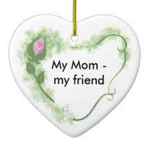 Mom Ceramic Ornament