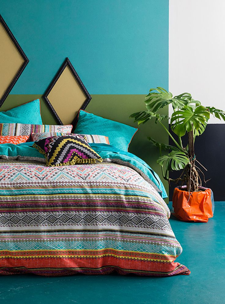 Best 25 Aztec Bedding Ideas On Pinterest Aztec Bedroom