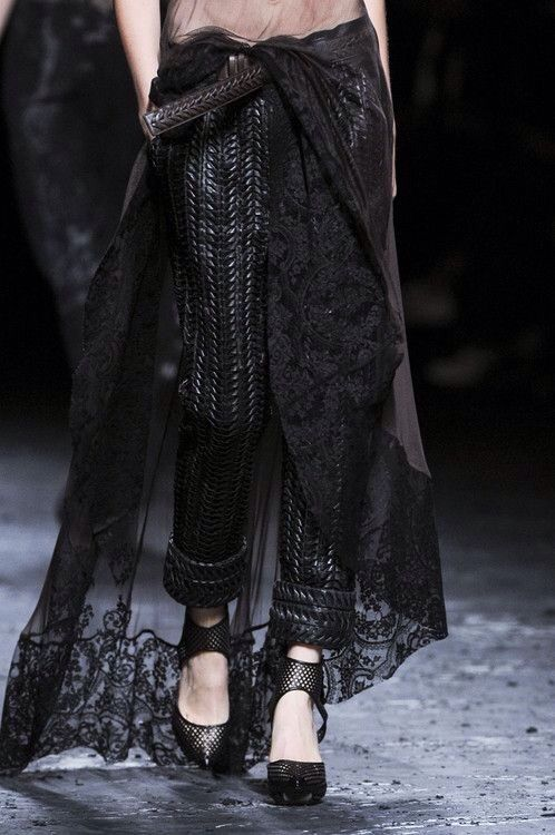 Haider Ackermann Spring/Summer 2013 RTW at Paris Fashion Week.