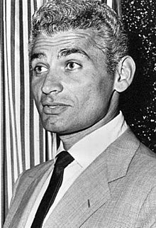 Jeff Chandler - 1958.jpg--Chandler formed his own company, the Shady Lane Playhouse, in Elgin,Illinois in 1941.