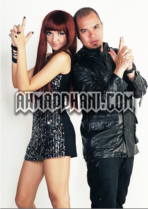 Alexa Key and Ahmad Dhani