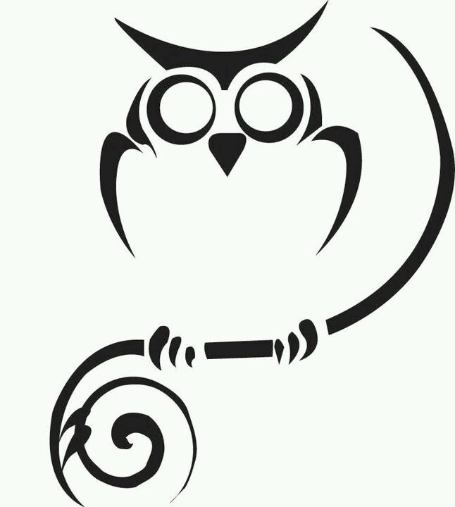 Owl outline | Ink Interests | Pinterest