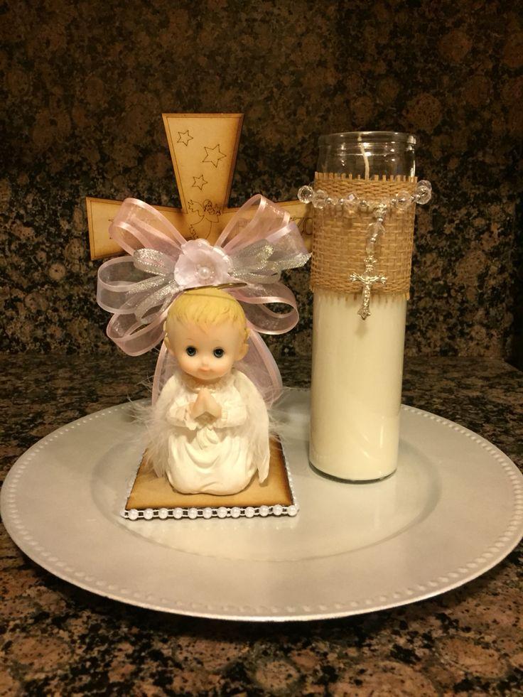 Baptism centerpieces #baptism #centerpieces #baby