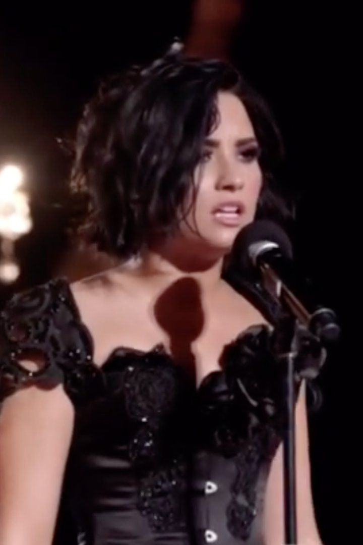 "Demi Lovato Debuts ""For You"" at the Victoria's Secret Swim Special"