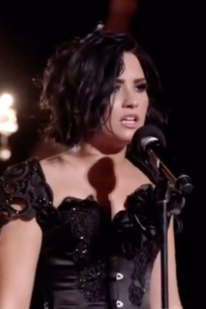 """Demi Lovato Debuts """"For You"""" at the Victoria's Secret Swim Special"""