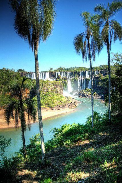 Parque Nacional do Iguaçu, localizado na região do Extremo Oeste do Paraná, Brasil