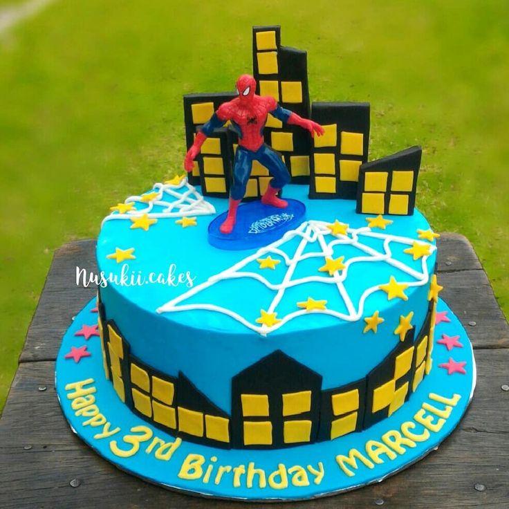 Nusukii.cakes Wa 81349054590 Sepinggan - Balikpapan  #spiderman #spidermancake #weddingcakebalikpapan #whiteandgoldweddingcake #anniversarycake #birthdaycake #beautifulcake #simplecake #customcake #fondantcake #whippycream #cakebalikpapan #balikpapancake #kuebalikpapan #kueonlinebalikpapan #weddingcake  #jualweddingcakebalikpapan #jualkuebalikpapan #jualkueultah #jualkueultahbalikpapan #weddingcakebalikpapan #bakulanbalikpapan
