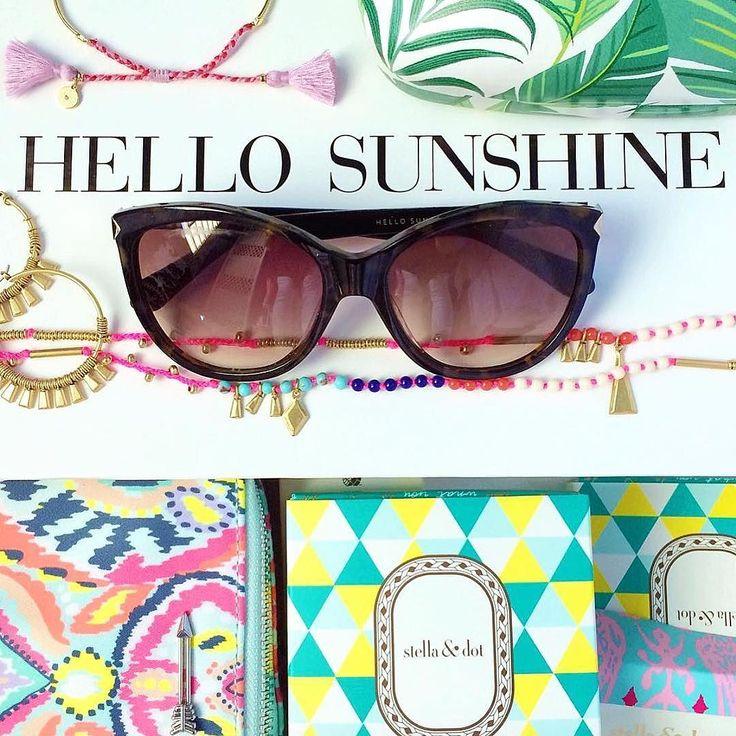 Hello Sunshine is right! Thanks for sharing @cara_194 #stelladotstyle #sdjoy #summer #sdsneak #newarrivals #TGIF http://www.stelladot.com/angiehurlburt