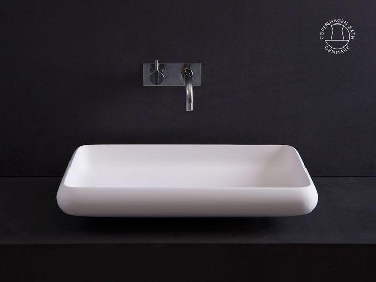Waschbecken: Ardea 60 viereckig Waschbecken