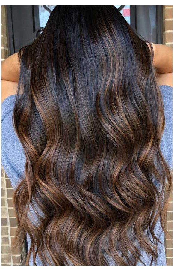 The Best Hair Color Trends And Styles For 2020 2020 Dark Hair Trends Looking For Hair Dye Colors In 2020 Dark Brown Hair Balayage Dark Hair Dye Brown Hair Balayage