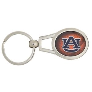 Collegiate Metal Key Ring - Auburn University