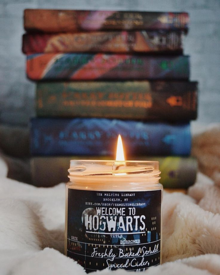 "2,381 Likes, 31 Comments - Patricia of The Night Court (@accio_library) on Instagram: ""Welcome to Hogwarts! This new magnificent candle from @themeltinglibrary smells heavenly! A blend…"""