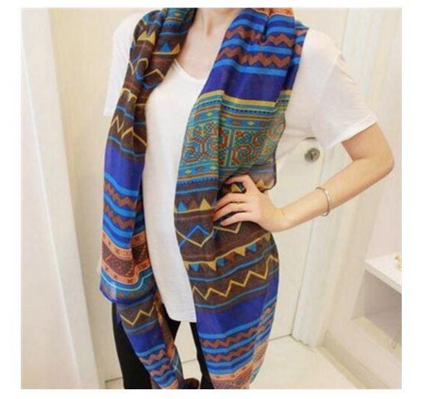 Dámský šátek/šála indiánská modrá – SLEVA 50 % + POŠTOVNÉ ZDARMA Na tento produkt se vztahuje nejen zajímavá sleva, ale také poštovné zdarma! Využij této výhodné nabídky a ušetři na poštovném, stejně jako to udělalo …