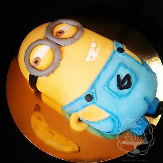 Minion cake #minioncake #szifurtortak