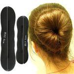 Korean dish hair sponge ball head bud head dish hair tools hair styling easy cheap simple and practical