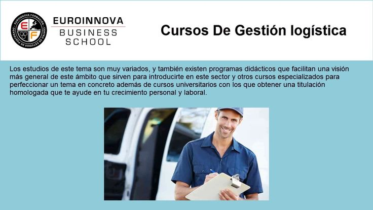 curso gestion logistica - https://www.euroinnova.edu.es/cursos/gestion-logistica
