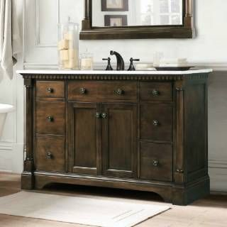 Pics Of Check out the Vanity Art WLF Sink Vanity in Antique Coffee Without