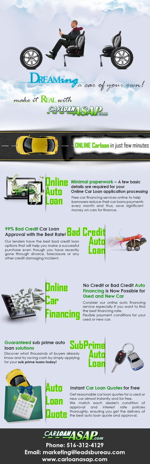 The carloan asap customer area gives each customer a personalized area where you can find all car loansfinance