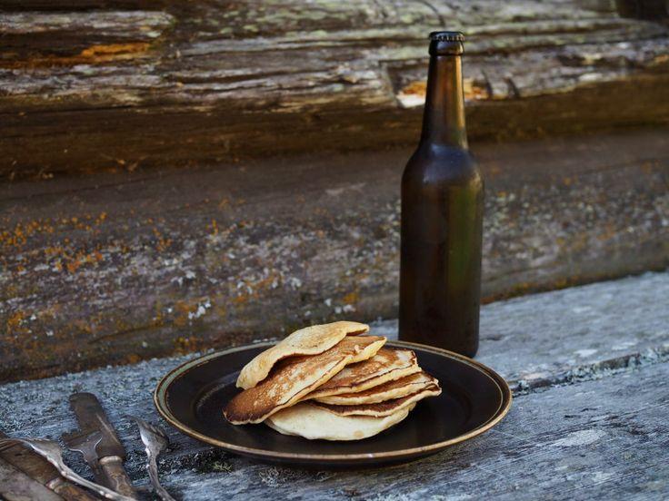 Lapper med Øl (Norwegian Flat Cakes with Beer)   North Wild Kitchen   Bloglovin'