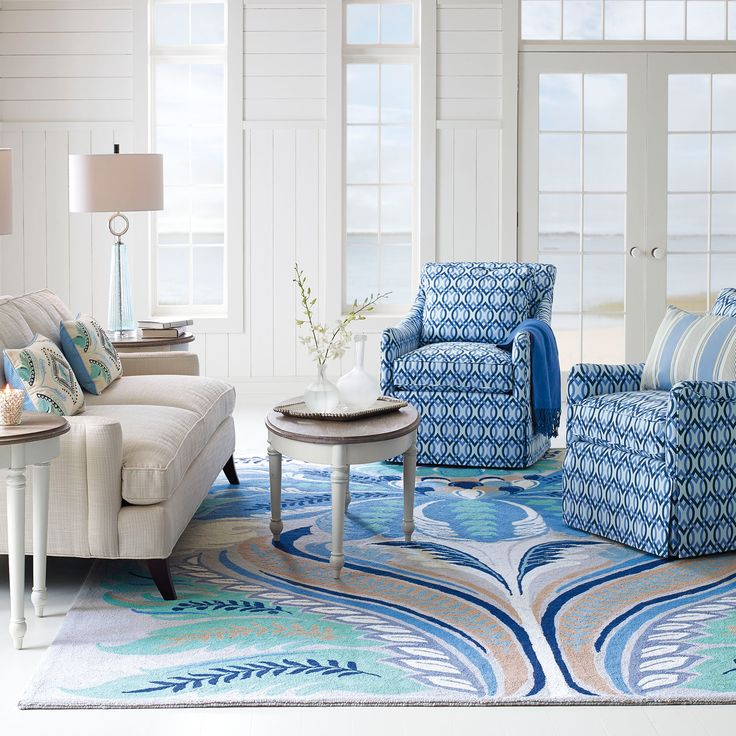 Company C Passionflower Hand Hooked Wool Rug @LaylaGrayce