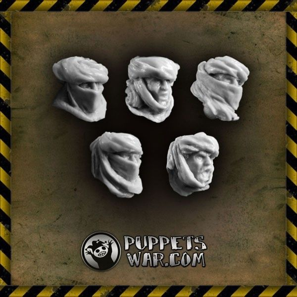 Desert Troops heads https://puppetswar.eu/product.php?id_product=277