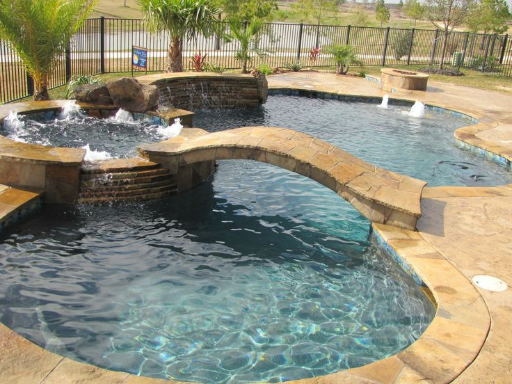 Rustic Swimming Pool - Found on Zillow Digs